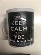 Keep Calm Ride Lambretta Mug